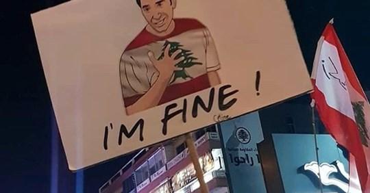 friends, expat coaching, im Ausland leben, Revolution im Libanon